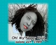 Rosario of Oh My Nappy Hair Salons of California and Atlanta